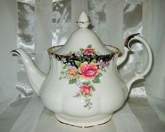 Royal Albert Concerto Large Teapot   eBay