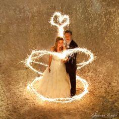"Wedding Sparklers ""Hearts on Fire"" https://www.facebook.com/eleonorabarnaphotography"