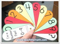 classroom, math tool, numeraci, numbers, fans, school stuff, number fan, educ, number sense