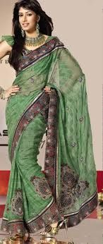 Wedding and Bridal Embroidered Saree embroid sare, bridal embroid