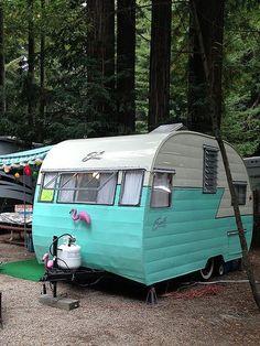 Shasta vintage trailer camper