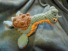 Crochet Lapras! Free Pattern.