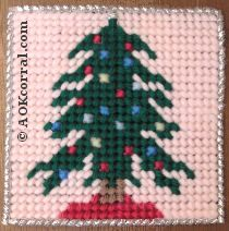 Plastic Canvas Christmas Tree