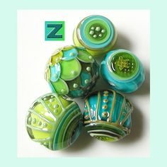 Amazing lampwork bead from Sarah Moran by zbeads <3
