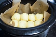 REALLY?!? ................................................. Buttery, fluffy brioche bread baked in your crock-pot!