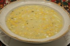 Corn Chowder - One word: Yum.