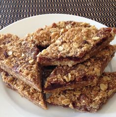 Raspberry Cookie Bars - a wholesome, chewy alternative to store bought fruit bars.