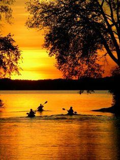 My style of kayaking.