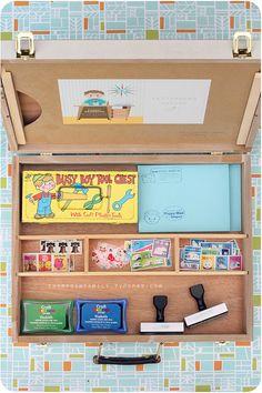 Letter writing kit for kids