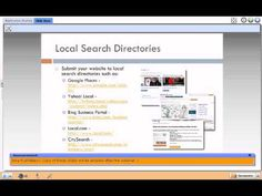 How to get your website found online. 5 tips for small business and other websites.