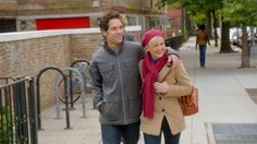 "Paul Rudd and Amy Poehler in ""They Came Together."" Courtesy Sundance Institute"
