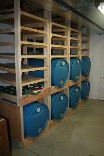 Water Storage Rack Plans: The Result