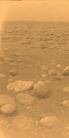 First Color View of Titan's Surface