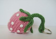 "Strawberry - Free Knitting Pattern - PDF File, click "" download"""