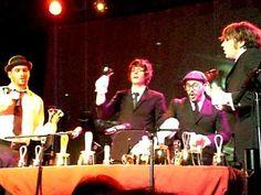 OK Go- playing the handbells.