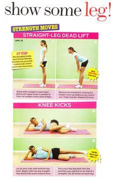 Leg excercises