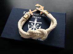 anchors away! kjp bracelet!