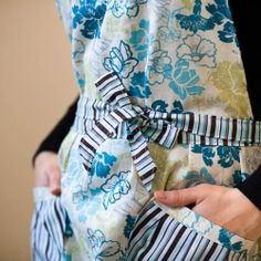 Homemade Aprons with cute pockets!