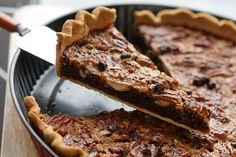 Chocolate Pecan Pie :: from an American in France