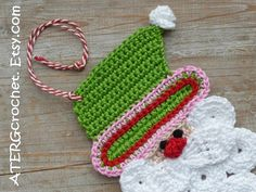 SANTA 'apple' by ATERGcrochet