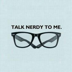 Nerd love :)