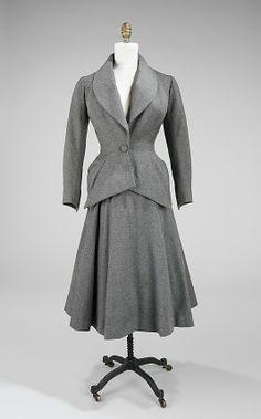 Charles James suit, 1948
