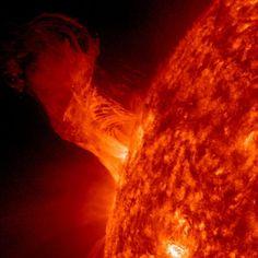 Solar Eruption of Dec. 31, 2012