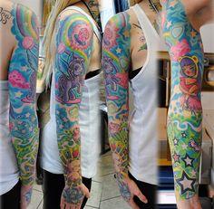 my little pony tattoos | Bronycore My Little Pony Sleeve [Tattoos]