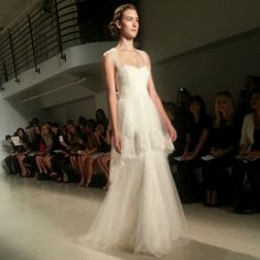 Christos wedding dress, fall 2014 collection. Photo: Charanna K. Alexander/The New York Times
