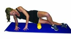 Travel size foam roller for destination races (& vacation).