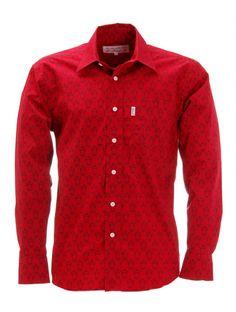 French Gardian Shirt Camarigo Red — Gardian Shirt Camarigo Red