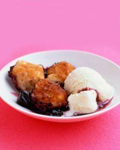 Dumplings // Cherries with Cinnamon Dumplings Recipe