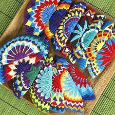 Mayan tapestry crochet
