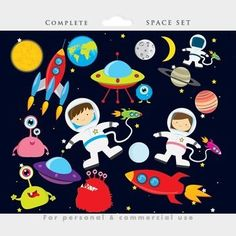 FREE Space Clipart