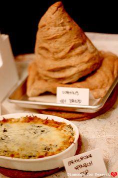 Diamonds for Dessert: The Sorting Hat Harri Potter, Artichok Dip, Adult Harri, Artichokes, Adult Harry Potter Party, Potter Parti, Hat Bread, Artichoke Dip, Sort Hat