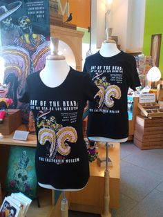 Limited edition exhibit tees are available in men's and women's XS-XL sizes for $16.99 at the Museum Store. Buy yours today before they're gone!