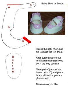 fondant, babi booti, babi shoe, babyshoes, templat, gumpast babi, cake decor, baby booties, baby shoes