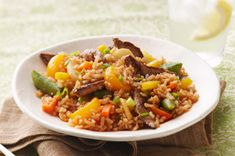 Beef-Fried Rice recipe