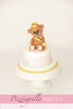 How to make a sweet teddy bear, sugar paste: tutorial