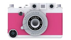 This clever device is both a case for your iPhone and a tool that transforms it into a rangefinder camera. It uses its own viewfinder and shutter button, located exactly where they would be on a vintage camera. $55