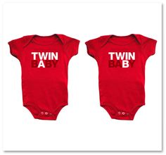 TWIN BABY A/B. Wish I knew someone that was having twins!
