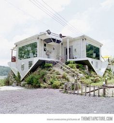 Upside down house.. why not?