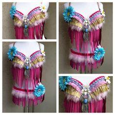 Pink hippie