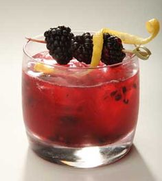 Blackberry Gin Fizz -Ingredients: 2 oz. OXLEY Classic English Dry Gin ...