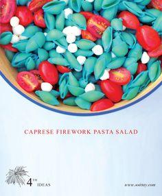 Recipe - Fourth of July Caprese Pasta Salad