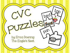 Great for practicing reading CVC words!