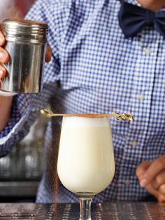 Get that holiday party started with homemade eggnog.