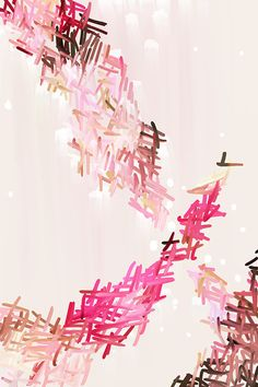 Mia Fine Art Giclee Print, Abstract Print, pink print, pink abstract, 10x15-20x30in