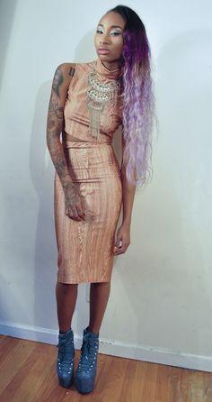 Dark Skinned and Tattoos