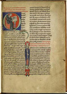 Scribling monk - France, c. 1200 (Kopenhagen, KB, GKS 182 2°)   Twitter